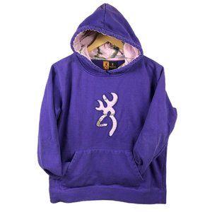 Browning Women's Purple Hoodie XL